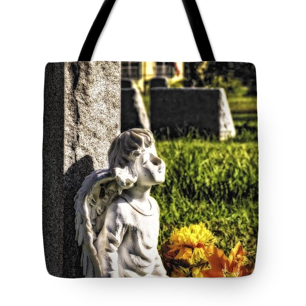 Angel 010 Tote Bag by Michael White