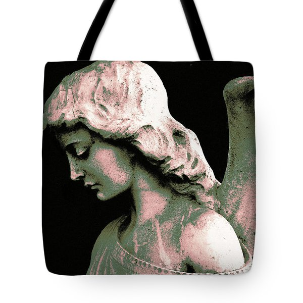 Tote Bag featuring the photograph Angel 4 by Maria Huntley