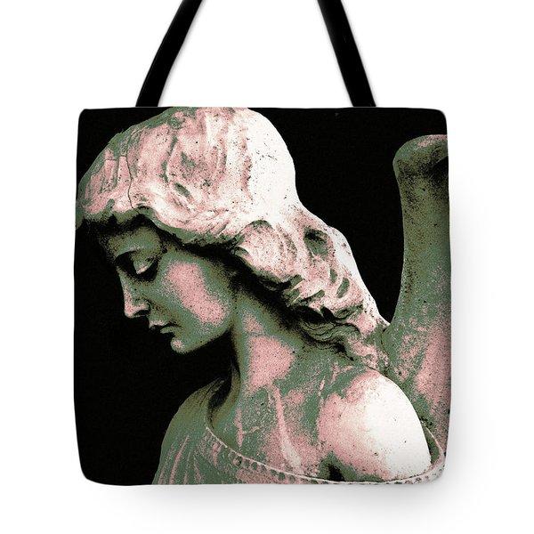 Angel 4 Tote Bag by Maria Huntley
