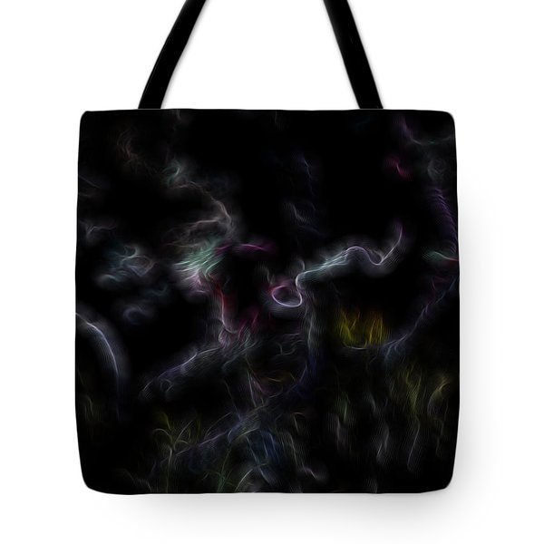 Angel Abiding Tote Bag by William Horden