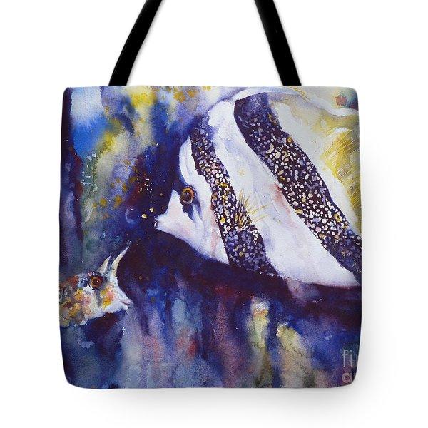 Angel And Unicorn Tote Bag