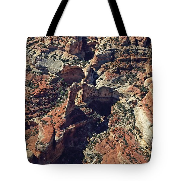 Angel Arch In Canyonlands National Park Tote Bag