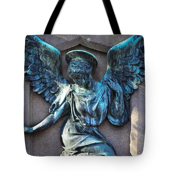 Angel Art - Guardian Angel Tote Bag
