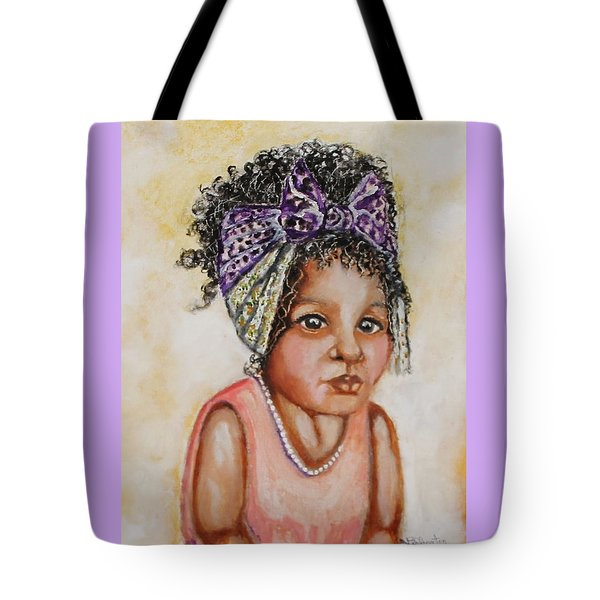 Angel Baby, The Painting Tote Bag