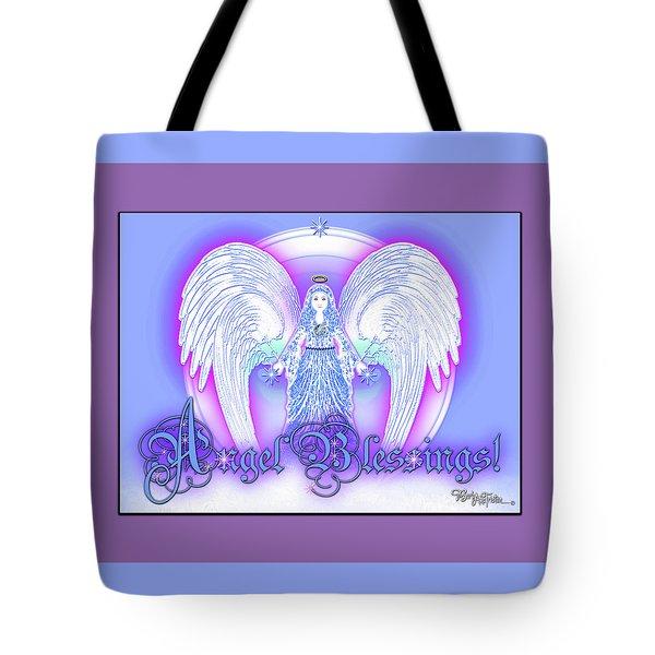 Angel Blessings #196 Tote Bag