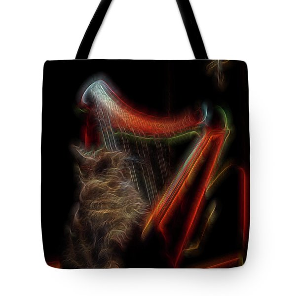 Angel Cat Tote Bag by William Horden