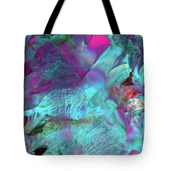 Angel Daphne Flowers #2 Tote Bag