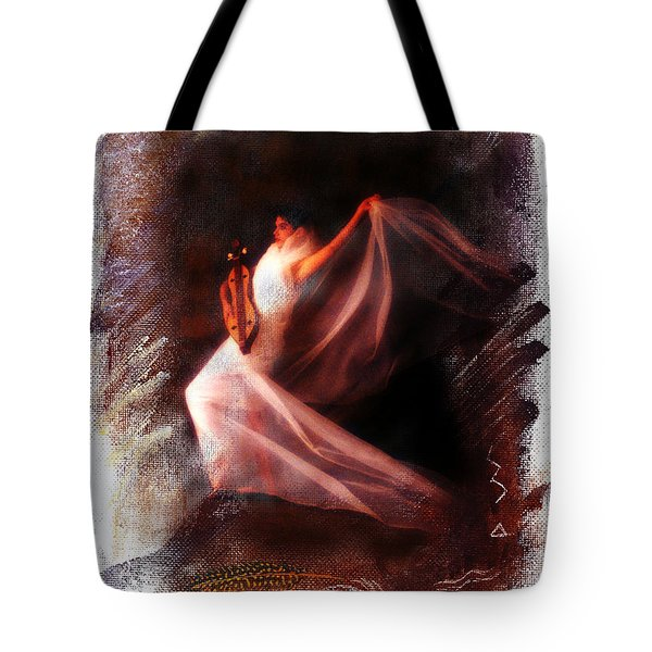 Ballet Angel Tote Bag