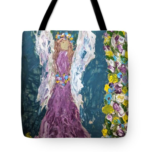 Angel Diva Tote Bag