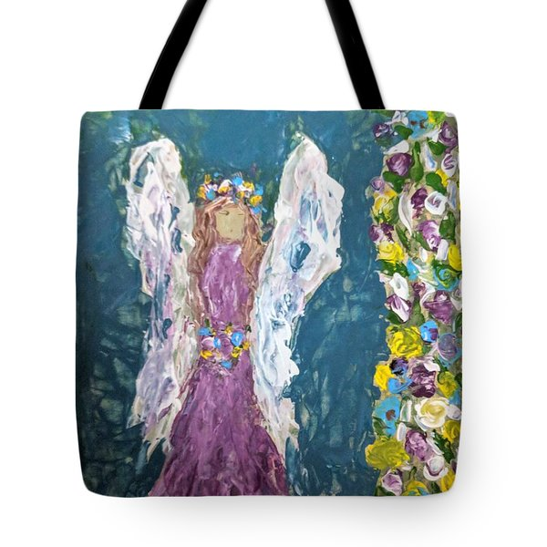 Angel Diva Tote Bag
