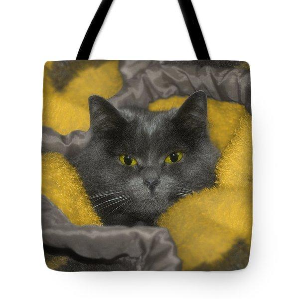Angel Eyes Tote Bag by Joann Vitali