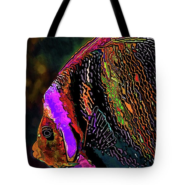Angel Face 2 Tote Bag