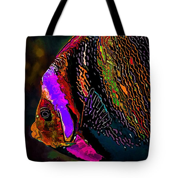 Angel Face 2 Tote Bag by ABeautifulSky Photography