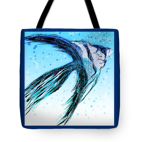 Angel Fish Art Tote Bag