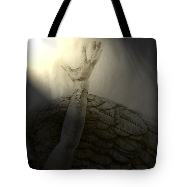 Angel Hand Tote Bag