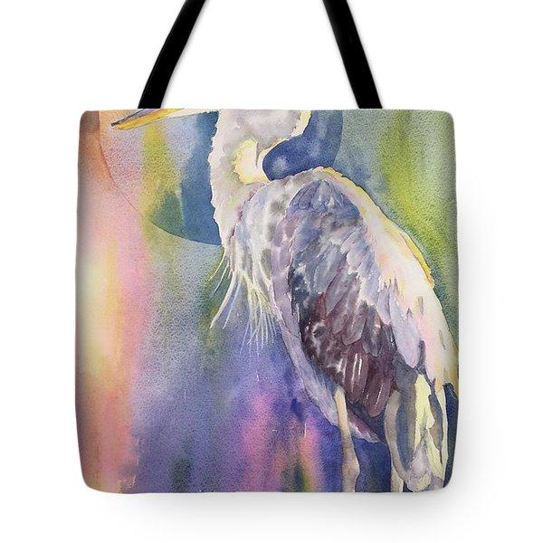 Angel Heron Tote Bag
