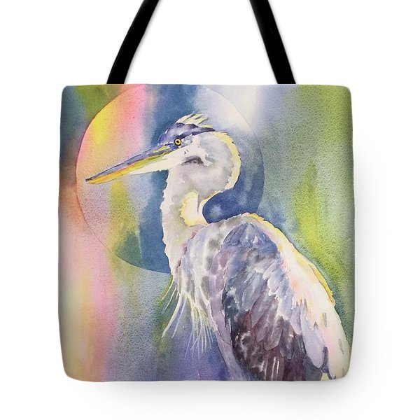 Angel Heron Tote Bag