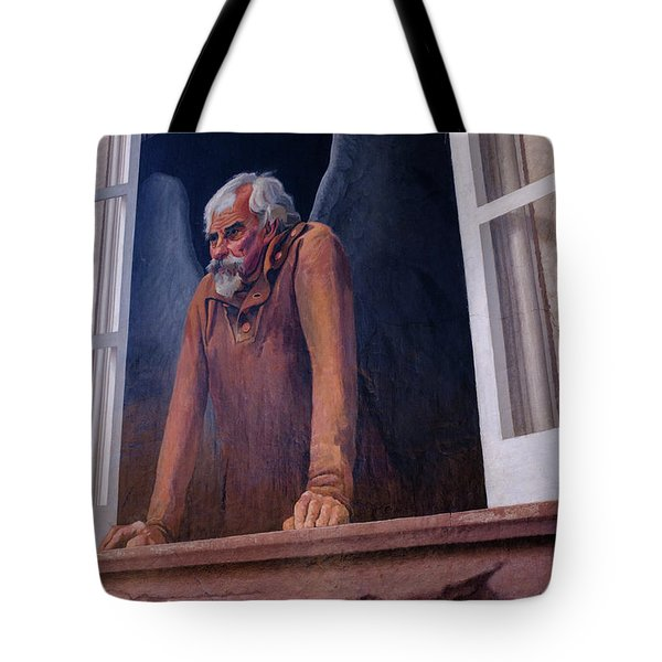 Angel In A Window In Frederick Maryland Tote Bag