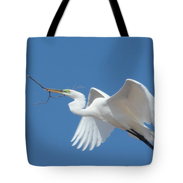 Tote Bag featuring the photograph Angel In Flight by Fraida Gutovich