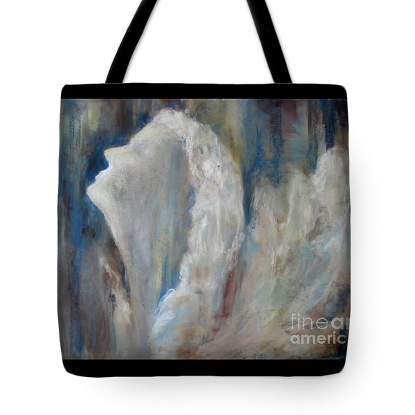 Angel In Soft Pastel Tote Bag by Cathy Weaver