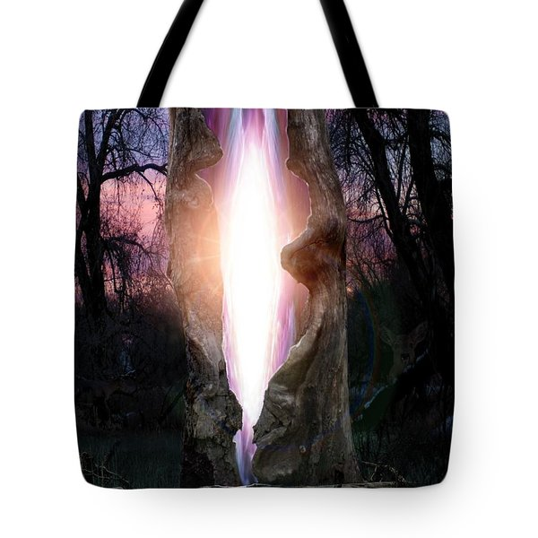 Angel In The Forest Tote Bag by Bill Stephens