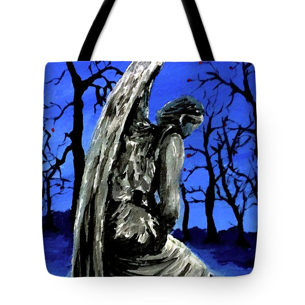 Winter Angel Tote Bag