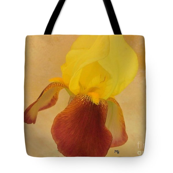 Tote Bag featuring the photograph Angel Iris by Marsha Heiken