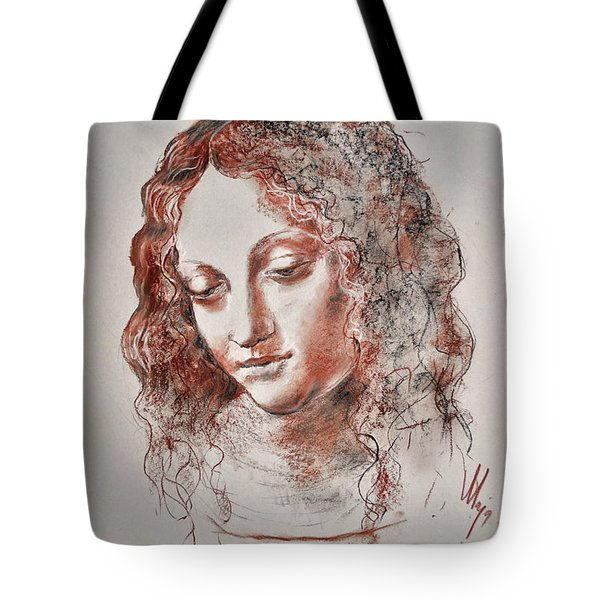 Angel Madonna Tote Bag