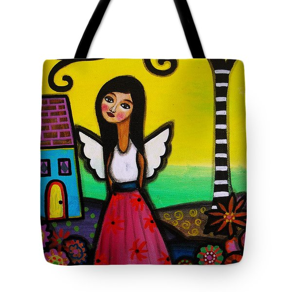 Angel Nilda Tote Bag by Pristine Cartera Turkus