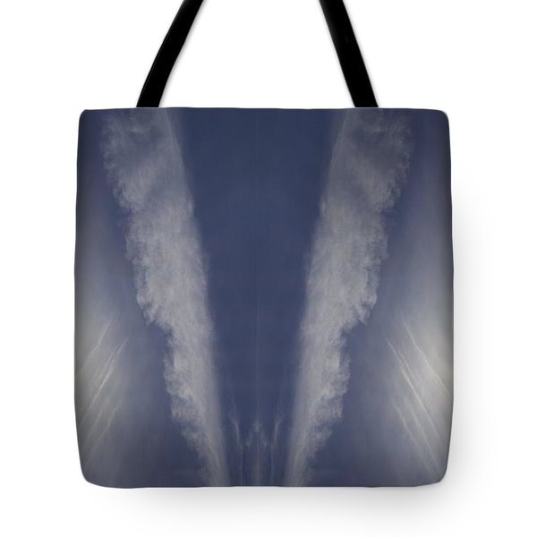 Angel Number Nine Tote Bag by Kevin Blackburn