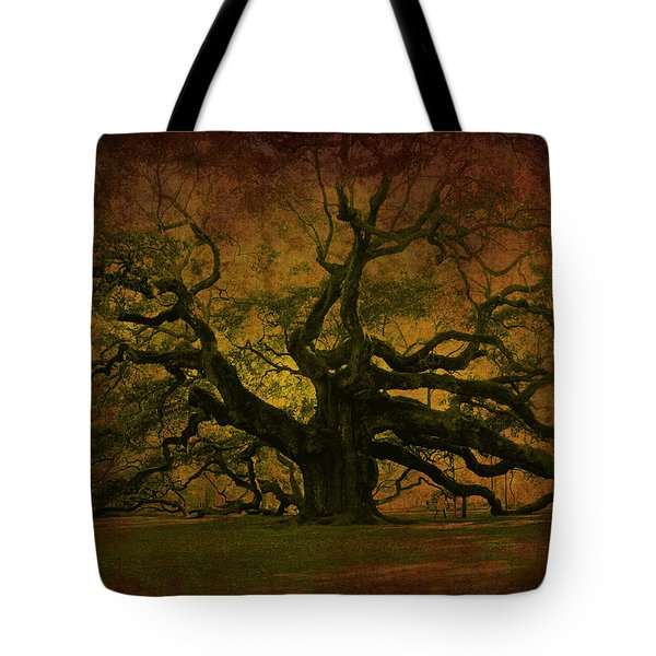 Angel Oak 3 Charleston Tote Bag