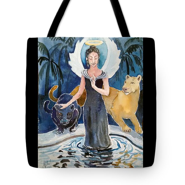 Angel Of Balance And Harmony Tote Bag