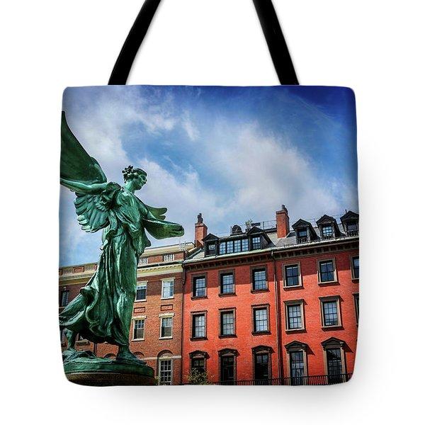 Angel Of Boston  Tote Bag