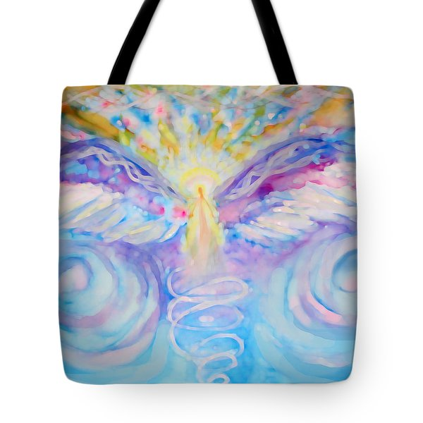 Angel Of Change Tote Bag