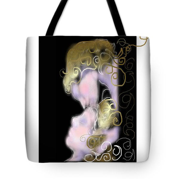 Angel Of Death Kiss Tote Bag