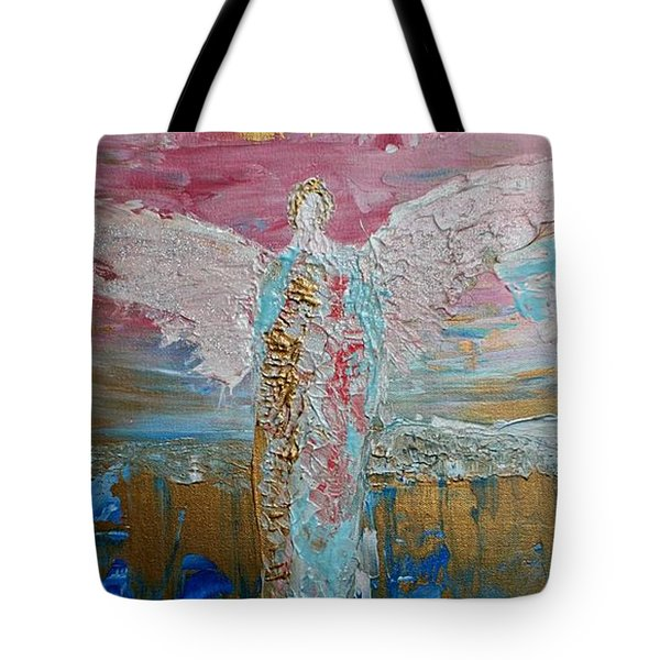 Angel Of Divine Love Tote Bag