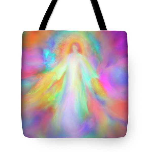 Angel Of Forgiveness And Compassion Tote Bag