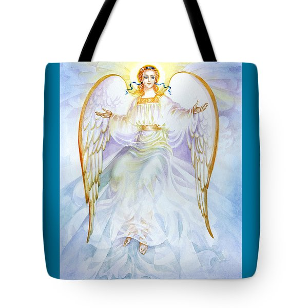 Angel Of Grace Tote Bag by Karen Showell