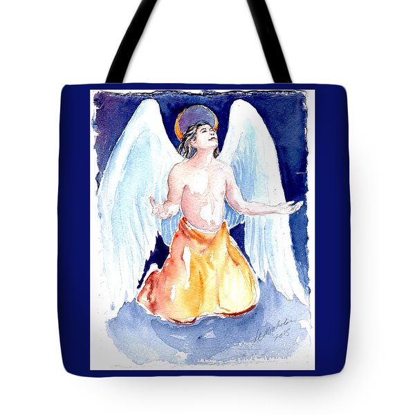 Angel Of Gratitude Tote Bag