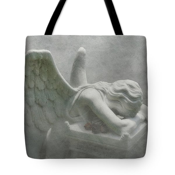 Angel Of Grief Tote Bag