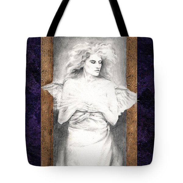 Angel Of Light Tote Bag by Ragen Mendenhall