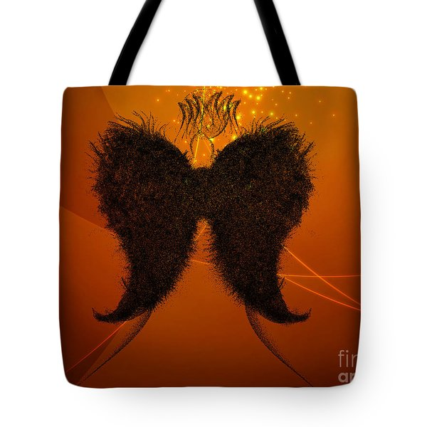 Angel Of Light Tote Bag