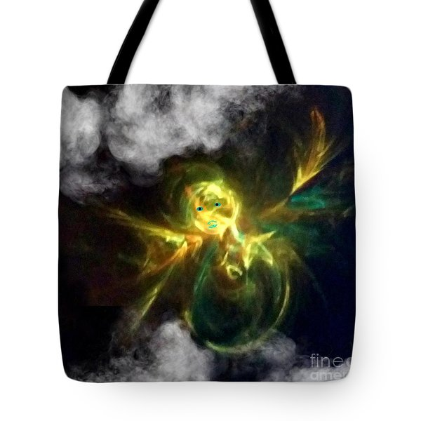Angel Of Lilght Tote Bag