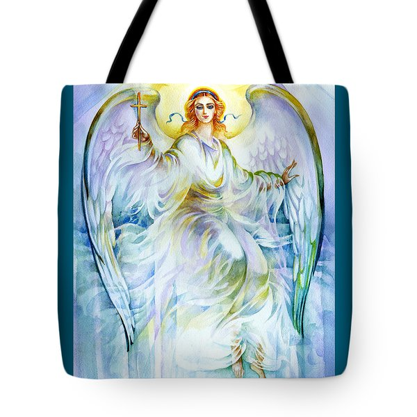 Angel Of Love Tote Bag by Karen Showell