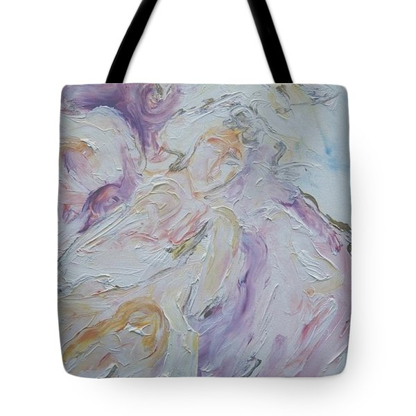 Angel Of Messages Tote Bag