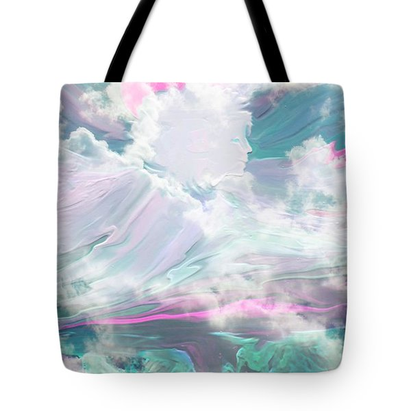 Angel Art Angel Of Peace And Healing Tote Bag