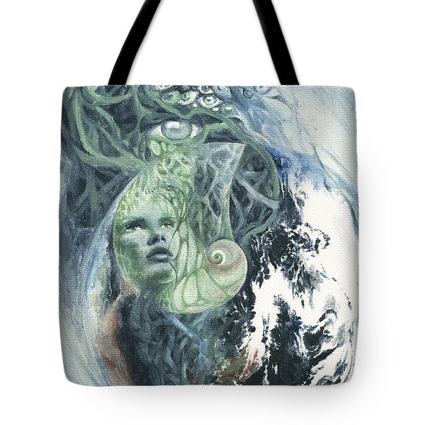 Angel Of Peace Tote Bag by Ragen Mendenhall