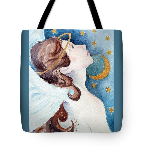Angel Of Receiving Tote Bag