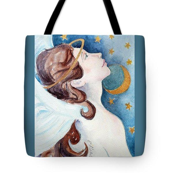 Angel Of Receiving Tote Bag