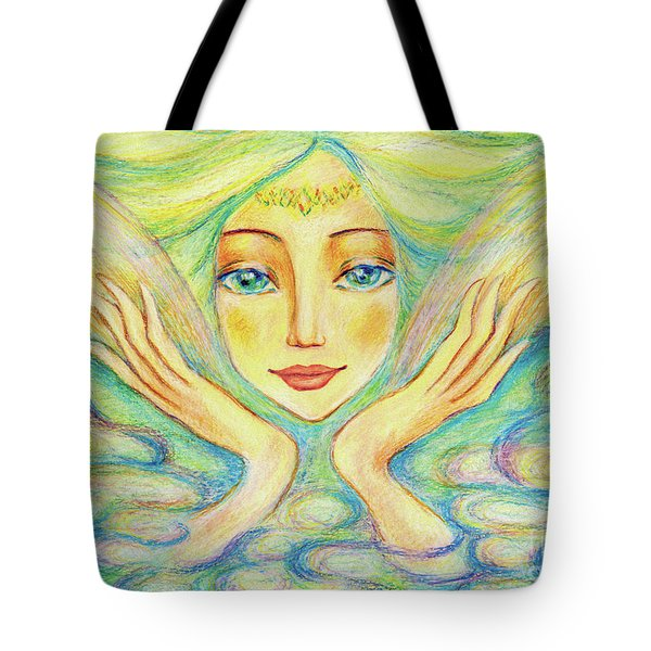 Angel Of Serenity Tote Bag